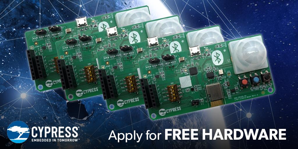 Cypress Bluetooth 5 IoT Contest - Electromaker.io
