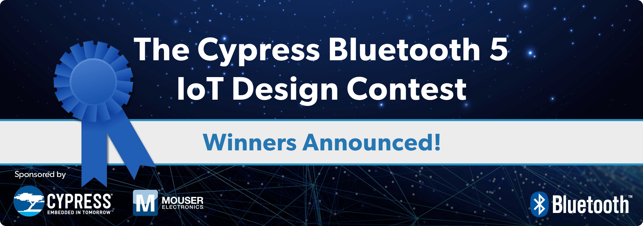 Cypress Bluetooth 5 IoT Contest