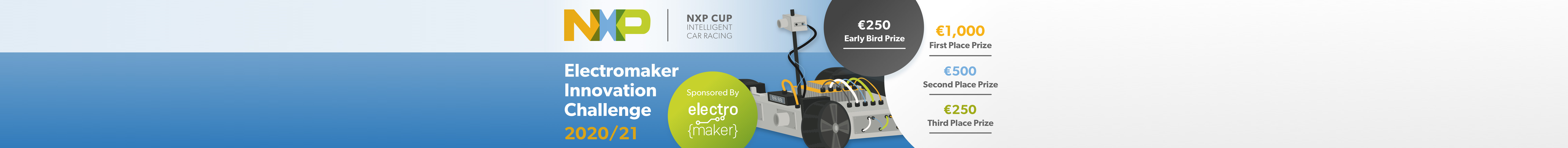 NXP Cup Electromaker Innovation Challenge 2021