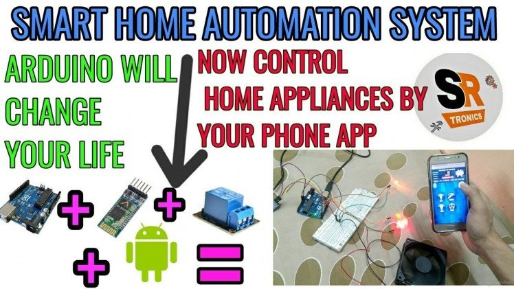 Smart Home Automation Using Arduino